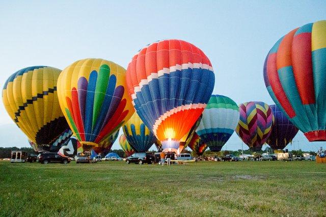 Bluff City Balloon Jamboree, Collierville, TN