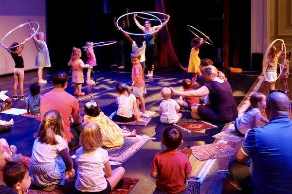 Magic Carpet:  Nutcracker in a Nutshell, Buckman Arts Center