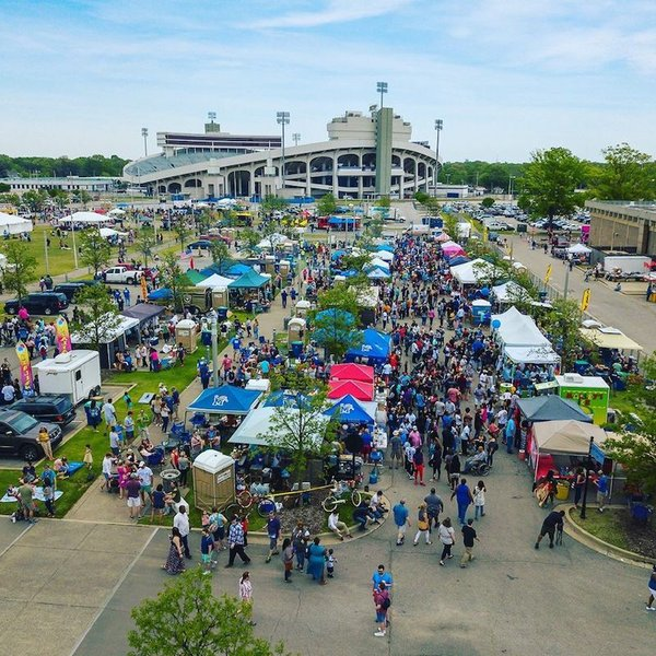 World Championship Hot Wing Contest and Festival, Liberty Bowl Memorial Stadium