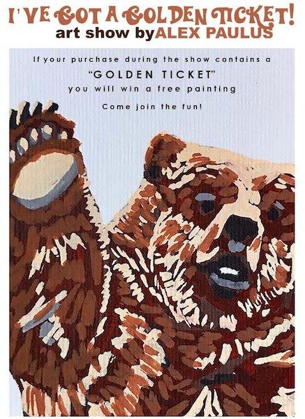 """""""I've Got A Golden Ticket!"""" at Off the Walls Arts"""