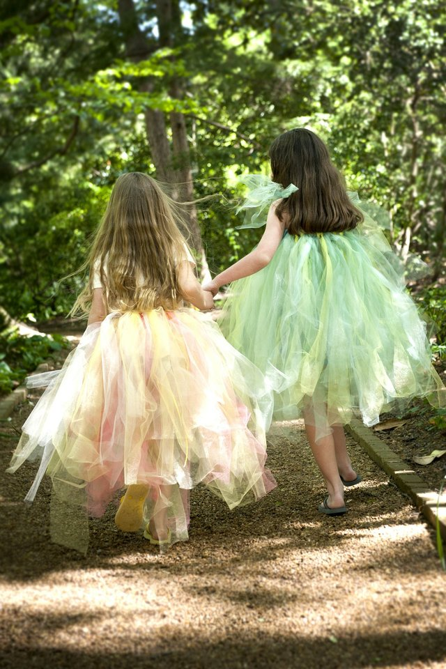 If you see a fairy, make a wish.For it's good luck to spot one,on a warm spring day.