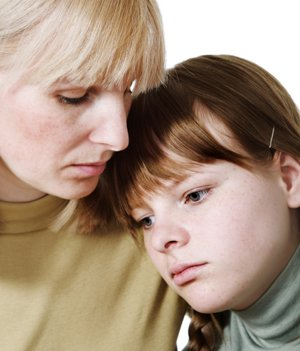 Don't try and fix your child's problems but encourage her to talk about her feelings and be understanding.