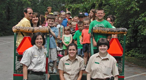 Join Junior Rangers at the Outdoor Classroom. Natchez Trace State Park