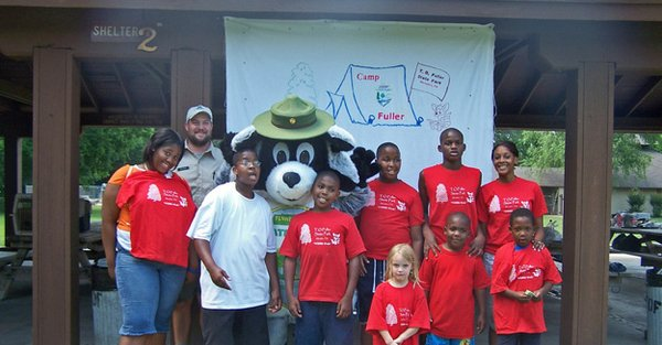 Camp Fuller with Ramble the Raccoon