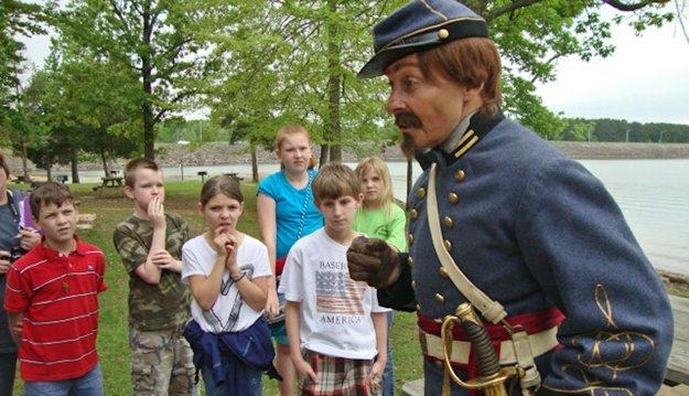 Hear reenactors tell Civil War history