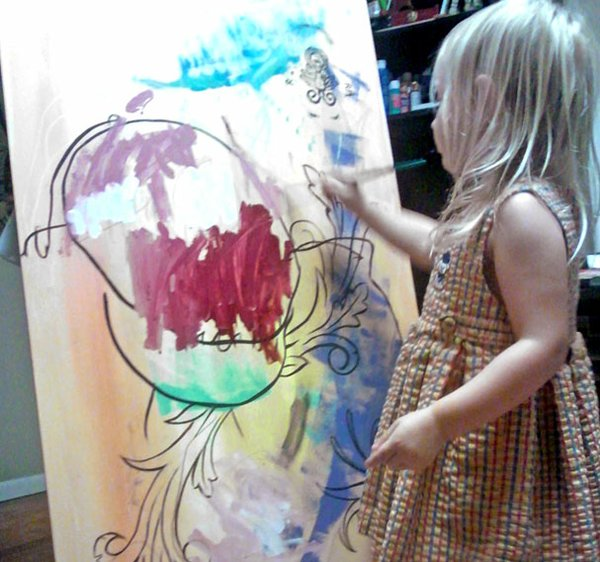 Mollie paints.jpg