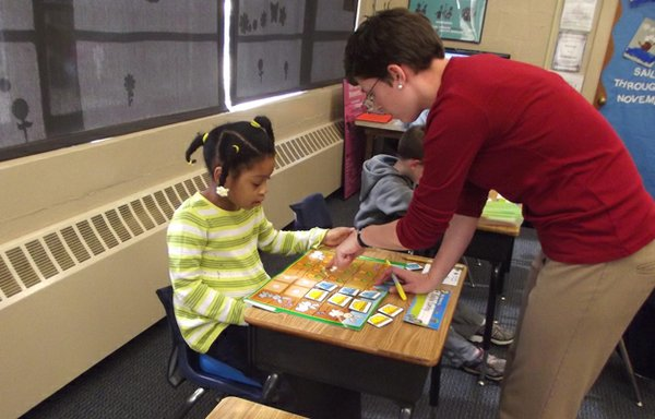 Children in the Angel Program gets lots of one-on-one time with therapists.