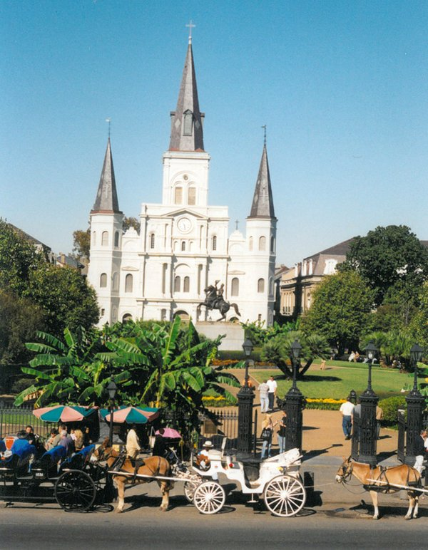 Jackson Square by Jane Schneider
