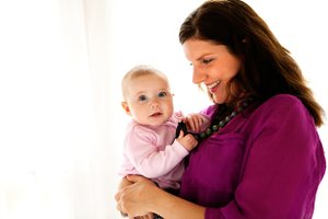 Thanks to writer and mom, Candice Baxter, pictured here with her 6-month-old daughter, Natalie.