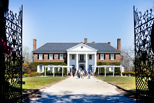 Boone Hall, one of America's oldest running plantations. If it looks familiar, that's because it was used in The Notebook and North and South.