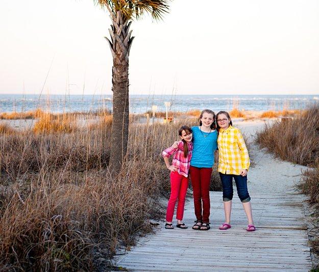 Grassy dunes and palmettos are the signature of scenic South Carolina beaches.