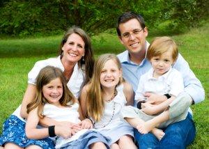 Ashley & Craig Dismuke with their children: Lindsey (9), Madison (10), and Ingram (5)