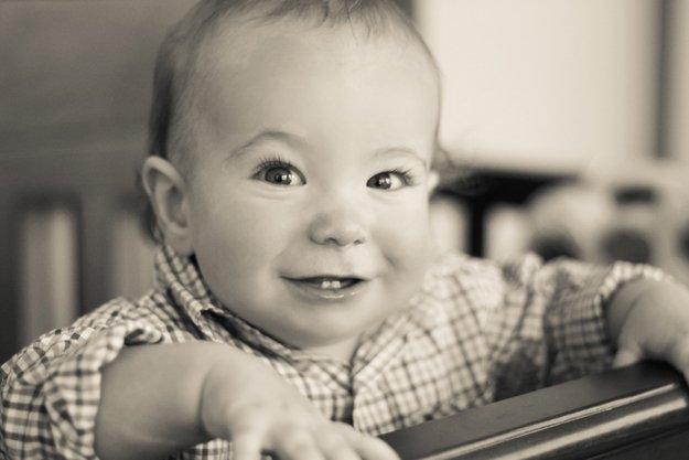 Evan Lewis, Winner, age 6-15 months category