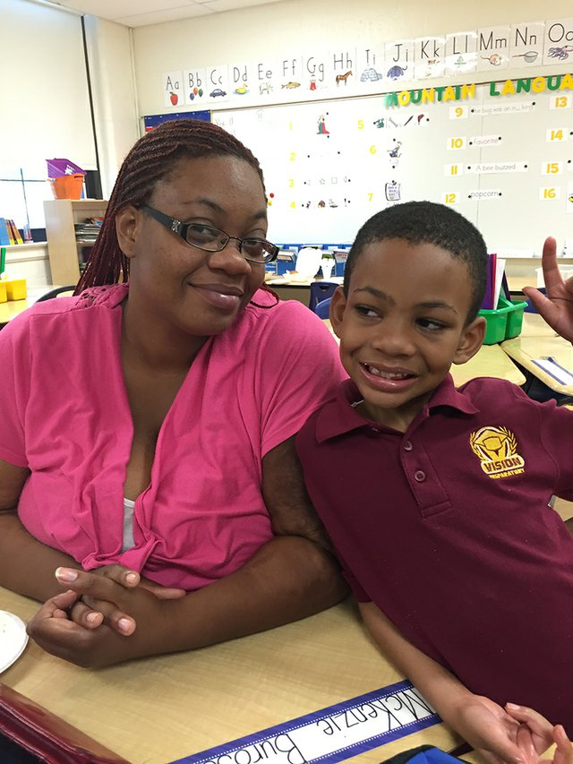 Dionne Bray and Son (Stand for Children)