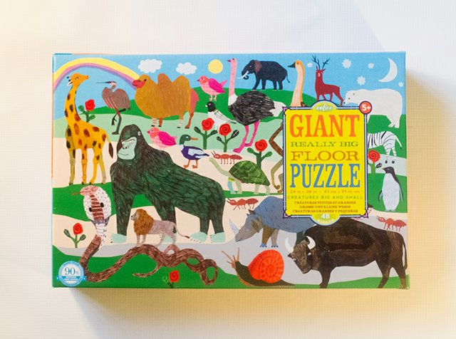 Giant & Regular Puzzles