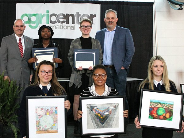 Winners of the 2019 Ag Day Student Art Contest